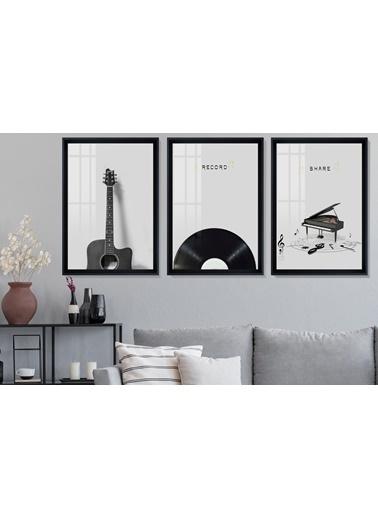 Çerçeve Home  Record Siyah Çerçeve Tablo Seti Siyah